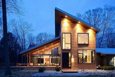 Pigeon Creek Residence   Modern   Exterior   Grand Rapids   By Lucid  Architecture