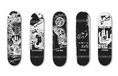 Andy Warhol x Alien Workshop Skate Decks