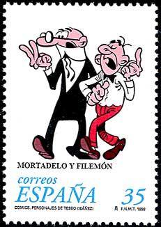 Spain: Mortadelo y Filemón (comics)