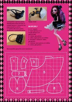 Monster High Dress Pattern
