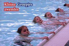 Kleine groepjes zwemles