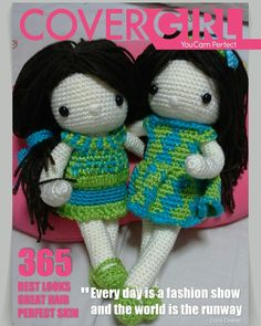 My crochet dolls : our cover girls tis mth!