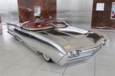 This custom looks amazing! Put a Batman logo on it! - 1961 Ford Thunderbird Custom