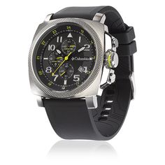 Columbia Watches - PDX Black & Silver - Columbia Sportswear Company is a global leader in the design, sourcing...