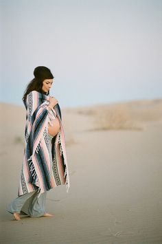 maternity mexican blanket