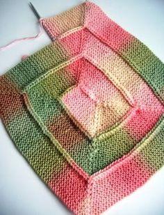 the 10 - stitch - blanket  Visitar yarnloopie.blogspot.com