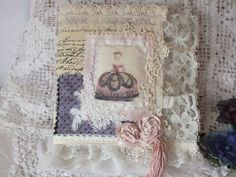 Altered fabric Art Journal