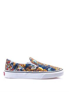 333a1237dc20 Flying tiger-print slip-on trainers