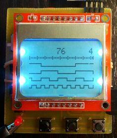 4-input mini Logic Analyzer