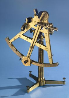 Double A-frame sextant of 12 inch radius, 1788-1803
