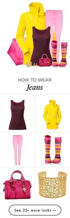 """""""rain gear"""" by divacrafts on Polyvore featuring ShedRain, The North Face, Uniqlo, Alexander McQueen, Marco Bicego, Brooks Brothers and Original"""