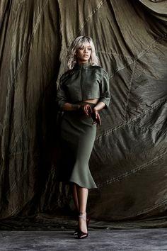 """Rihanna For Harper's Bazaar US March Issue """