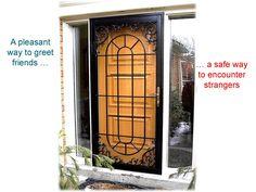 Page 12 Single front door with a gorgous open veiw www.MetalexDoors.com  #securitydoors #Door #security #Stormdoors #physicalsecurity #crimeprevention