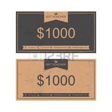 1000 ideas about gift voucher design on pinterest gift