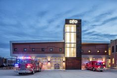 Davenport Central Fire Station Fire Station Architects The Galante Architecture Studio Are National Fire And Ems Design Sp Fire Station Architecture House Fire