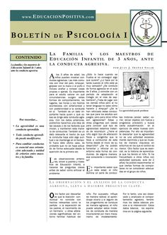 Child Early aggression (spanish) by Juan J. Ibáñez Solar Full psychology newsletter on www.educacionpositiva.com