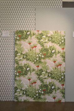 Arne Jacobsen wallpaper design