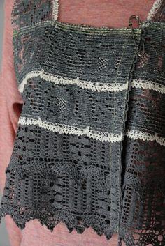 M63315 果てなきロマンス奏でるトーションレースベスト  #miyaco #lace #fashion #レース