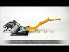 Idea for a manipulator made of multiple sections of parallel levers, each of which can be controlled independently. First Lego League, Lego Mindstorms, Lego Craft, Lego Robot, Lego Models, Lego Instructions, Lego Brick, Lego Sets, Science And Technology