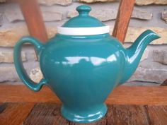 So.  Awesome.  / Vintage Hall McCormick Teapot with Infusor