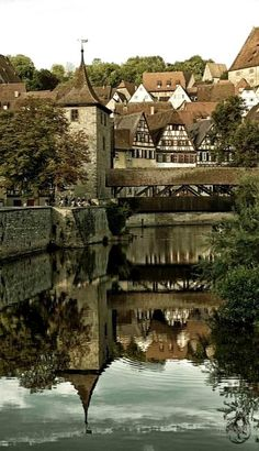 At the quaint Schwabisch Hall city in Baden-Wurttenberg, lies 30 minutes from Rothenburg, Germany. The Places Youll Go, Places To See, Beautiful World, Beautiful Places, Destination Voyage, Germany Travel, Dream Vacations, Places To Travel, Travel Photos