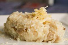 Kuracie rizoto so šampiňónmi