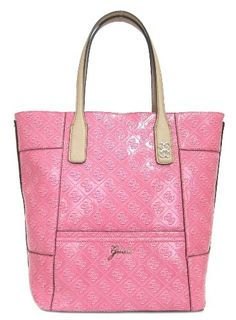 GUESS Reiko Carryall Tote Handbags – Pink « Holiday Adds
