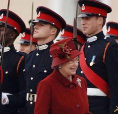 William & The Queen.