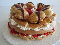 Patê à Choux - Delux St. Honoré Cake