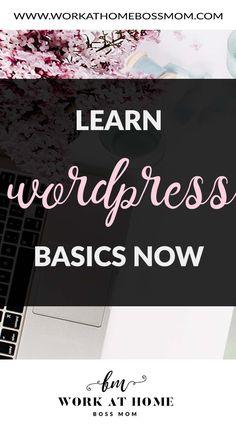 Learn WordPress Basics Now Make Money Blogging, How To Make Money, Archive Website, Learn Wordpress, Thing 1, First Blog Post, Blogging For Beginners, Pinterest Marketing, Social Media Marketing