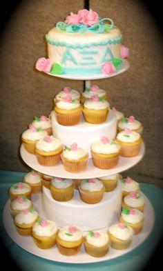 2nd #AXiD cake mum made! @Alpha Xi Delta @AXiD Iota Alpha
