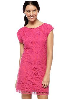 Fire Scoop Back Lace Dress  ...Casual rehearsal dress?