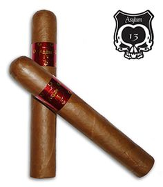 Asylum 13 Connecticut Cigars Blended by Christian Eiroa and Tom Lazuka, Asylum 13 Connecticut cigars are hand rolled at Christian's Aladino Cigar Factory in Danli using Honduran Corojo/Habano filler and Honduran binder tobaccos grown on his family's farms. Finished in a beautiful Ecuadorian Connecticut-seed wrapper, the Asylum 13 Connecticut is in the mild to medium-bodied range. The creamy, smooth Connecticut has an easy draw and offers notes of cedar with grassy notes and a touch of spice.