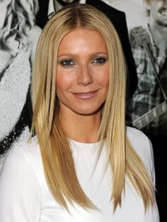 Hair and makeup:  Gwyneth Paltrow