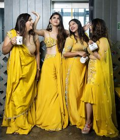 Ideas For Indian Bridal Photography Posts Colour Dress Indian Style, Indian Dresses, Indian Outfits, Indian Bridesmaids, Bridesmaid Outfit, Indian Wedding Wear, Indian Bridal, Desi Wedding, Indian Designer Outfits