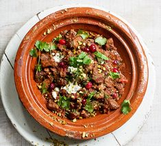 This is a fragrant onepot that lets your oven do all the hard work. If you're Christmas entertaining, serve up this succulent lamb with couscous and yogurt