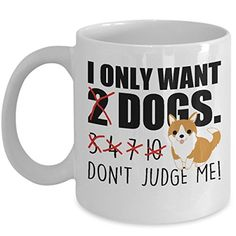 Dog Lover Gifts Birthday Cup Dont Judge Me Coffee Cups Tea Owners Mom