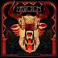 Pendurava qualquer capa dos álbuns do Mastodon na parede de casa.
