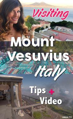 Join me on a trip to hike and tour the Italian Volcano of Mount Vesuvius outside of Naples, Italy. This top tourist destination in Italy is best known for having erupted in 79AD to cover the cities of Pompeii and Herculaneum.  Now, the ruins of these demolished ancient towns sit for visitors to tour and experience. There are many tours to Pompeii combined with tours to Mount Vesuvius available, most leave out of  Rome, Naples or Sorento.