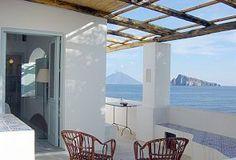 Ferienhaus Panarea  - Zugang zum Schlafzimmer
