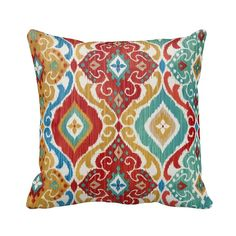 Zippered Geometric Southwest Outdoor by PrimalVogueHomeDecor
