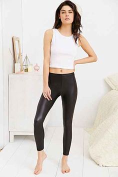 Out From Under Matte Vegan Leather Legging