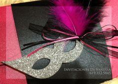 Masquerade Invitation - I love this, @Lynn Cook