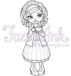 Bella Sweet Tea Vintage Cutie Girl Pretty Skirt by FaeryInk