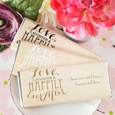Personalized Wedding Hershey's Chocolate Bars by Beau-coup