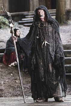 """""""The Seer"""" - Lick his Palm as Payment. """"Vikings"""""""
