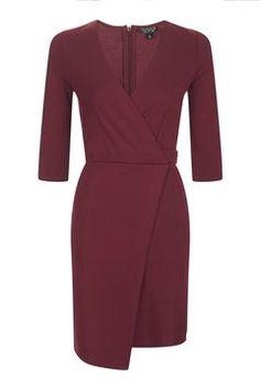 Ponte Wrap Dress