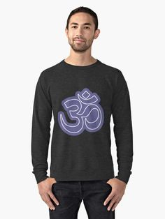Lightweight Sweatshirt - Tortuga ➡️ Line-Art inspired by the geometry of a sea turtle shell 🐢 - - Get yours today! Sea Turtle Shell, Sound Words, Hoodies, Sweatshirts, Chiffon Tops, V Neck T Shirt, Classic T Shirts, Purple, Long Sleeve