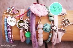 In de zomer kun je weer je polsen volgooien met mooie zoete armbandjes. Deze maak je natuurlijk zelf!...