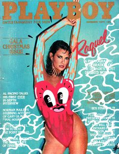 Hattie Stewart doodles on Playboy Magazine Raquel Welch, Playboy Bunny, Playboy Playmates, Vintage Playmates, Magazine Wall, Magazine Covers, Issue Magazine, Katharine Ross, Hugh Hefner